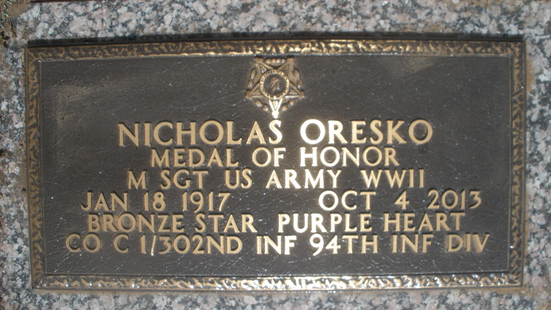 Nicholas Nick Oresko