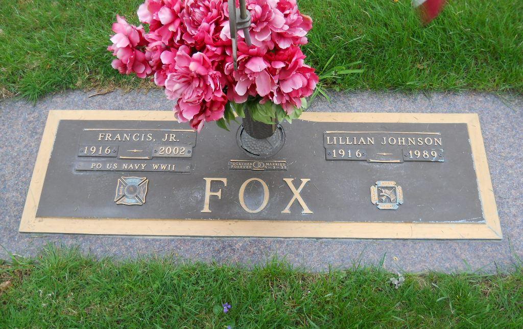 Lillian <i>Johnson</i> Fox