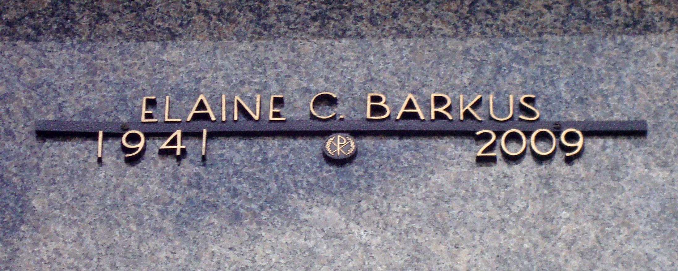 Elaine C. <i>Graziano</i> Barkus