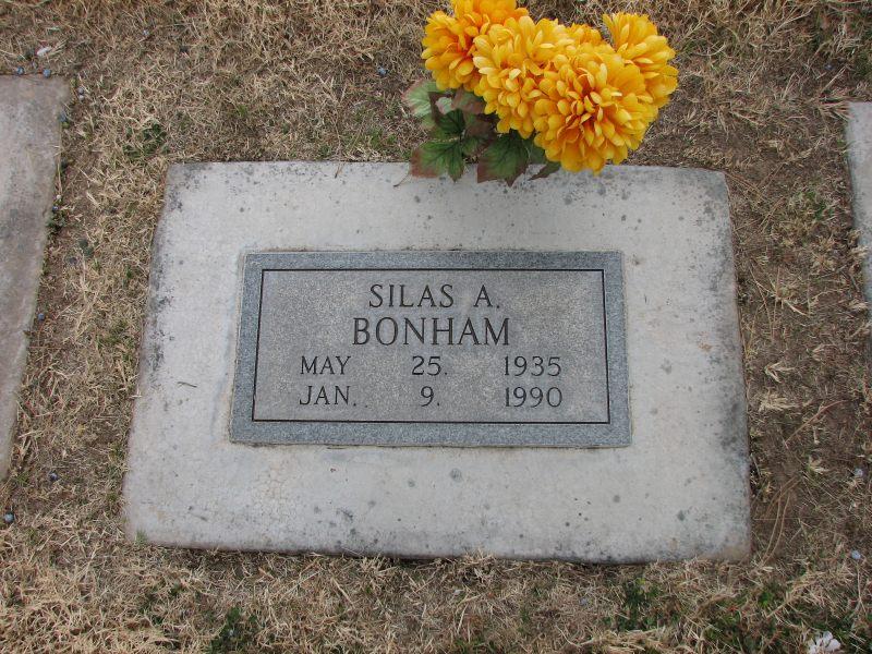 Silas A Bonham