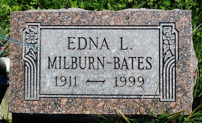 Edna Lucretia <i>Tracey</i> Bates