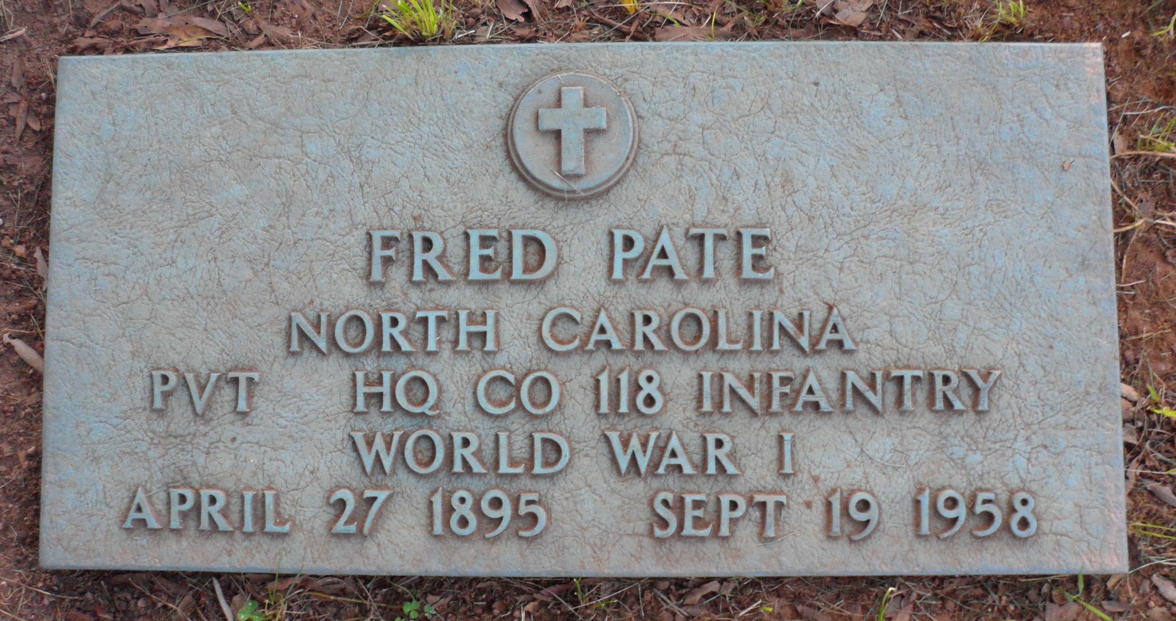 Fred Pate