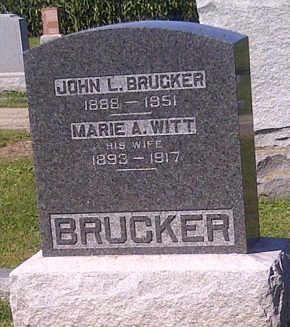 Marie Adelgunda Helena <i>Witt</i> Brucker