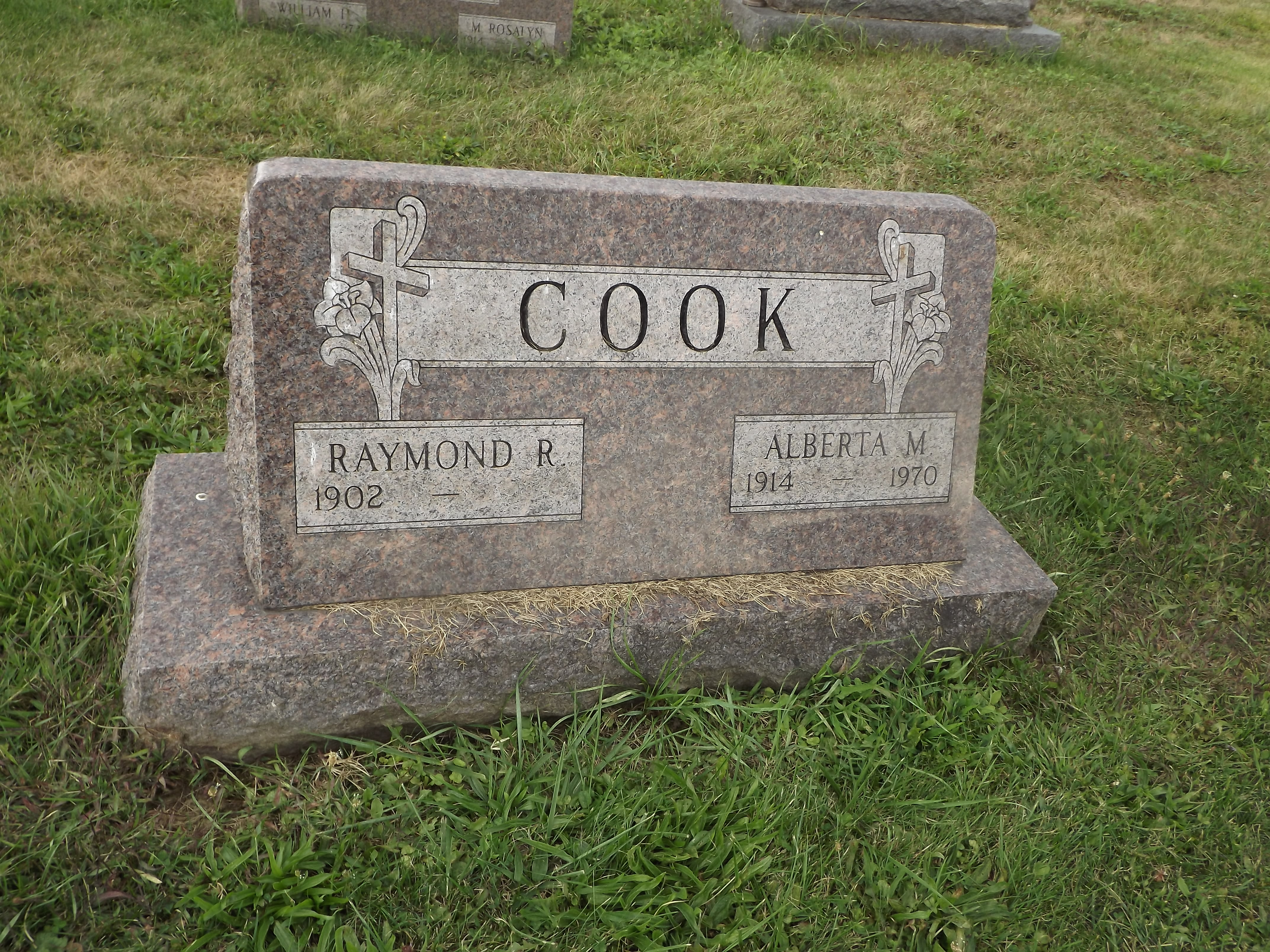 Alberta M Cook