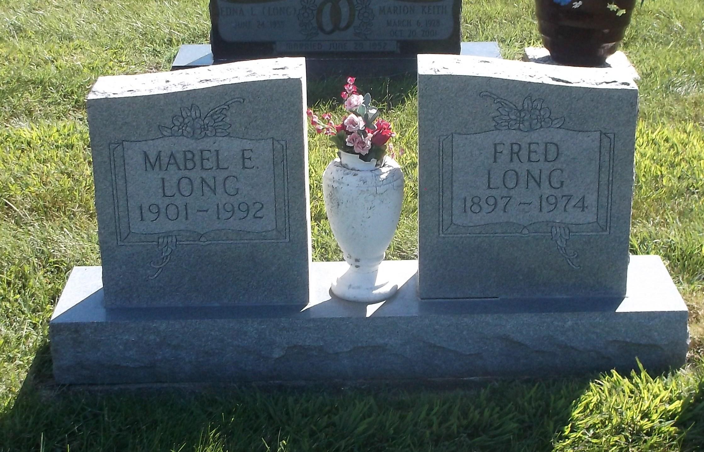 Mable Ellen <i>O'Haver</i> Long