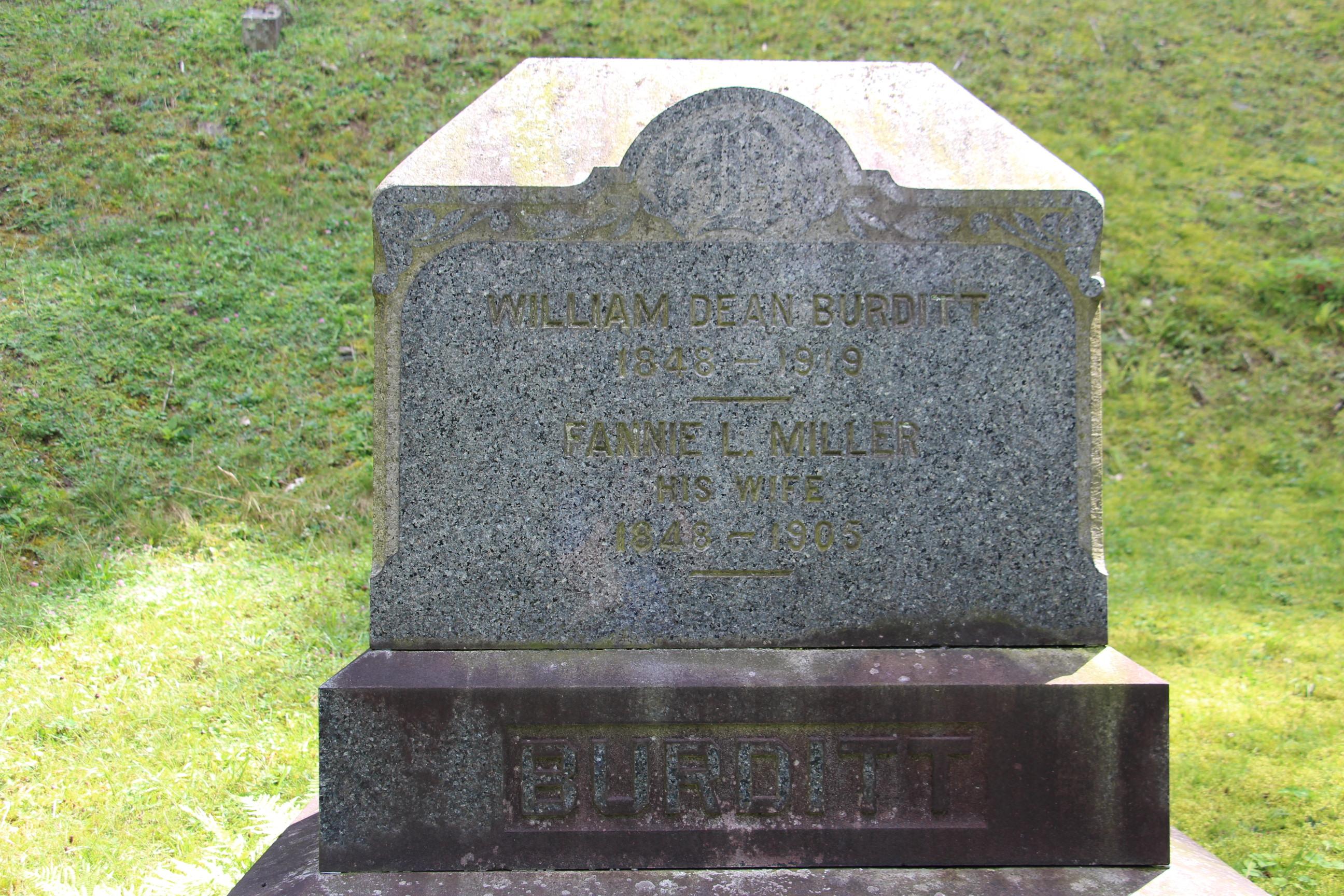 Frances Louisa <i>Miller</i> Burditt