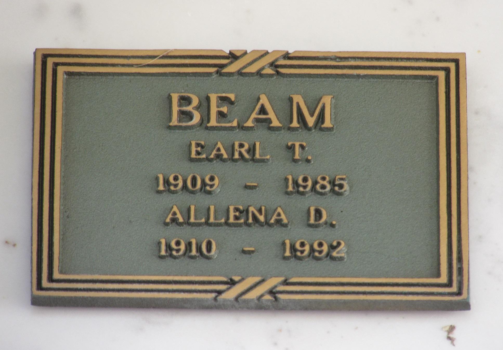 Allena <i>Davis</i> Beam