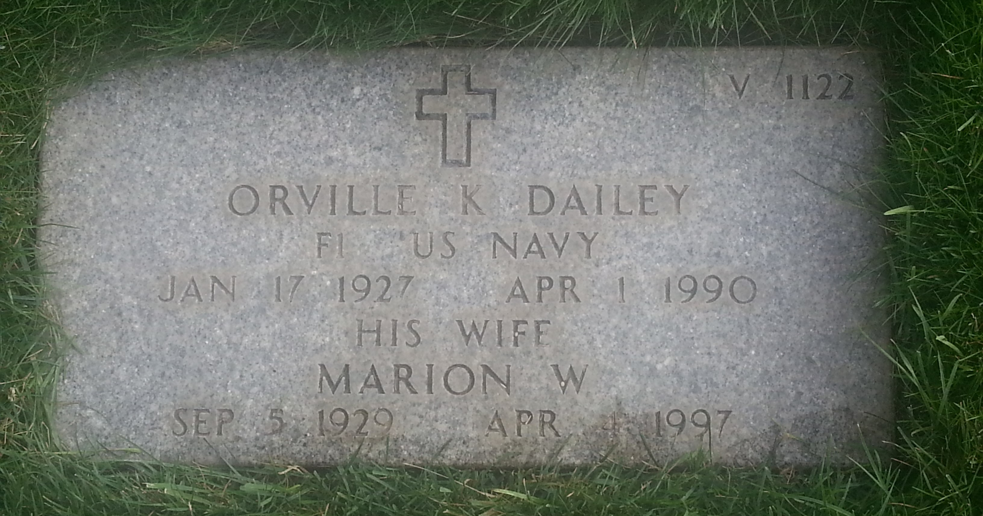 Orville Keith Dailey
