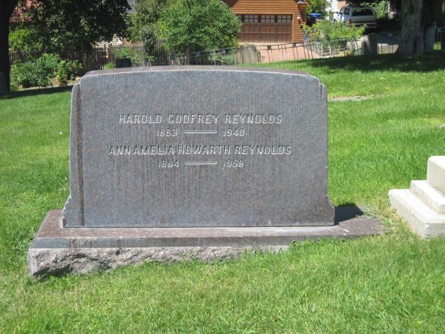 Harold Godfrey Reynolds