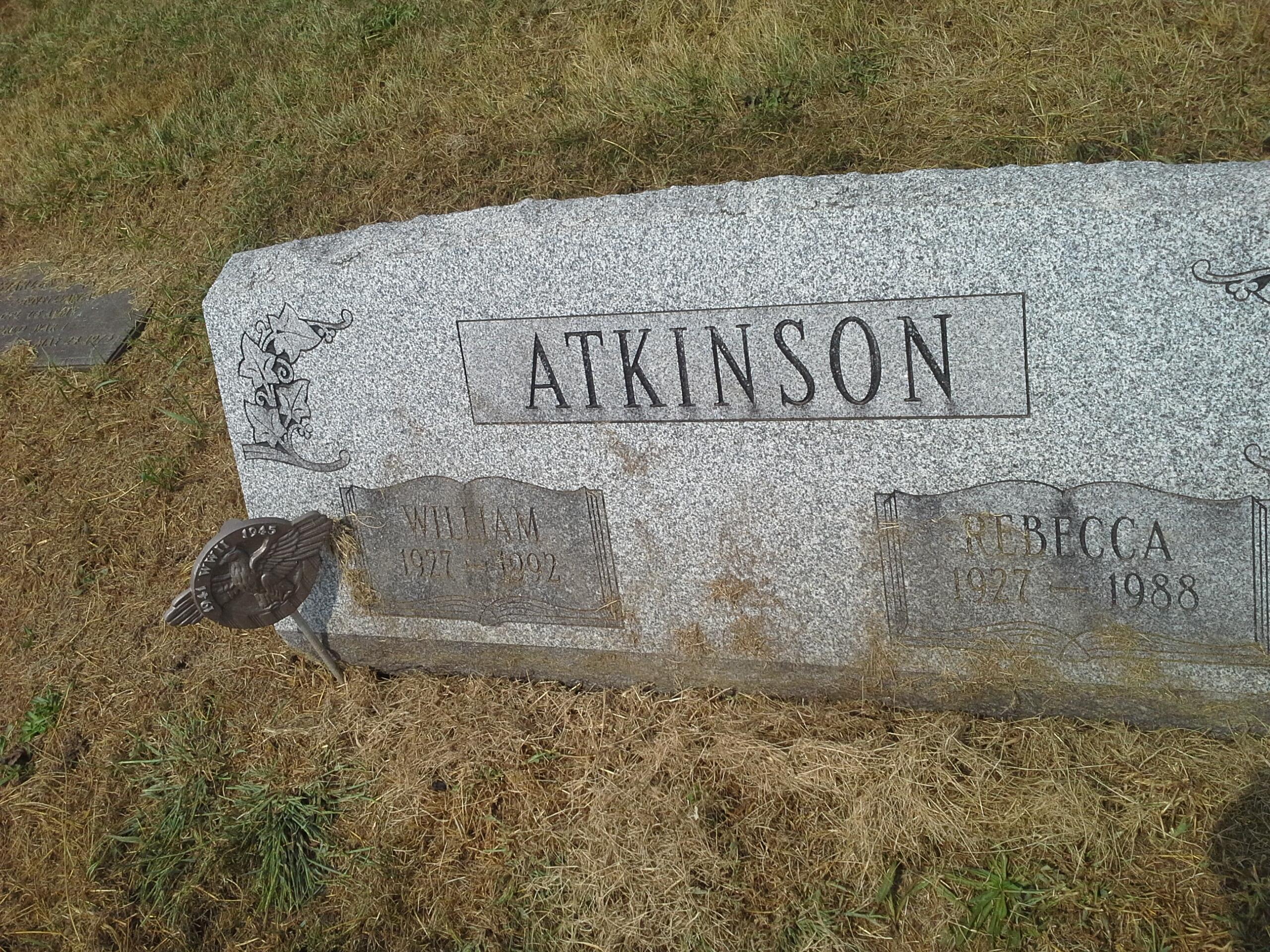 William A Skeets Atkinson, Sr