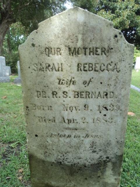 Sarah Rebecca <i>Barrett</i> Bernard