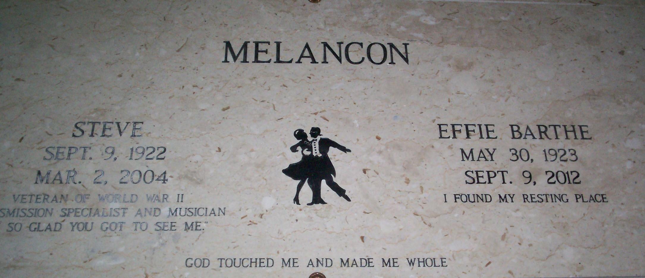 Effie Barthe Melancon Find A Grave Memorial