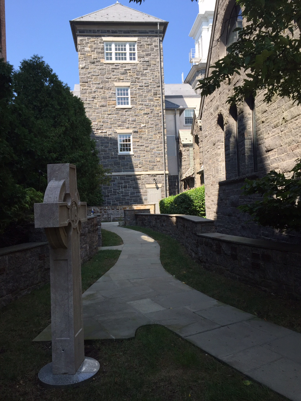 Memorial Garden of First Presbyterian Church