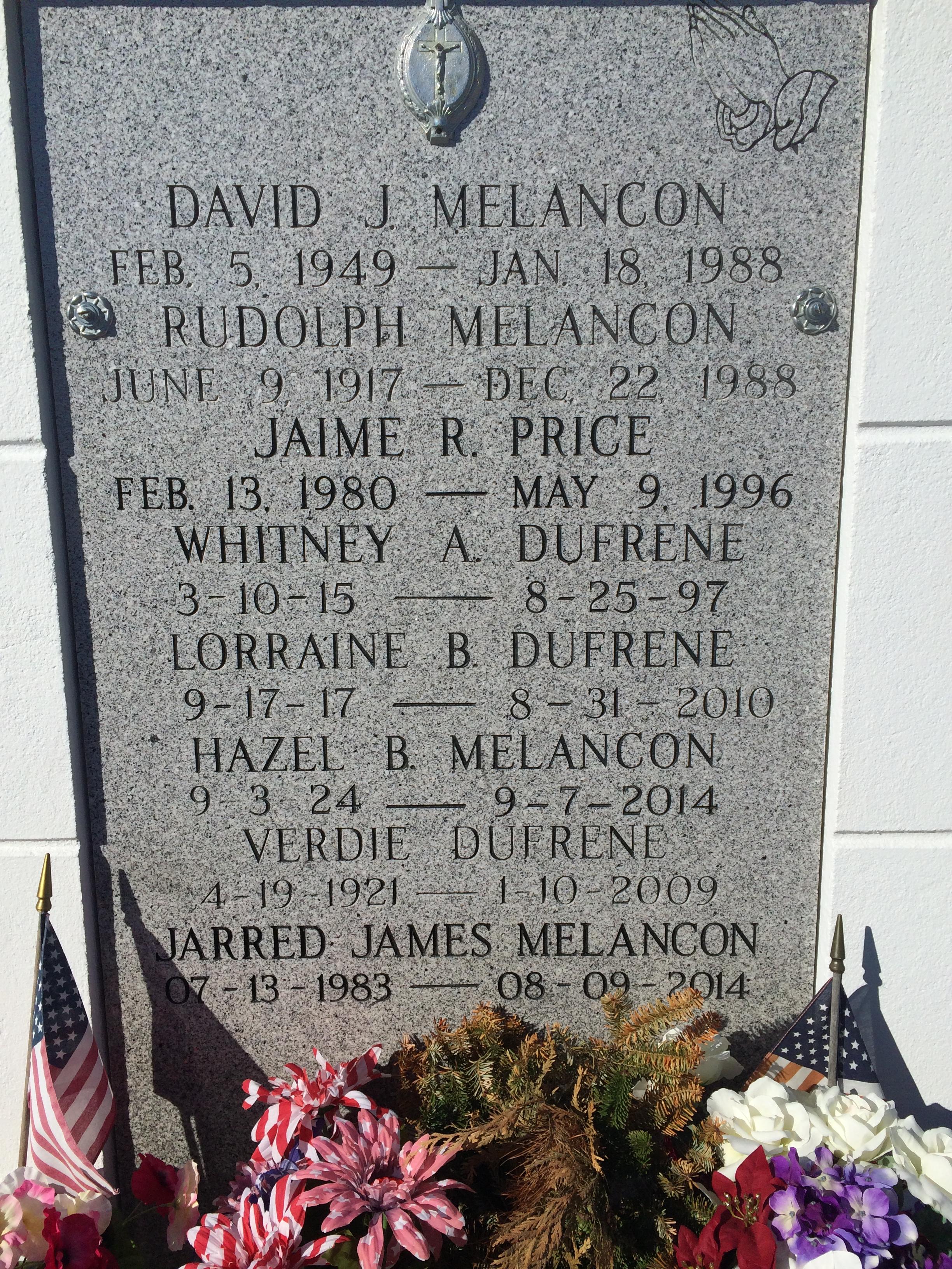 Jarred James Melancon Find A Grave Memorial
