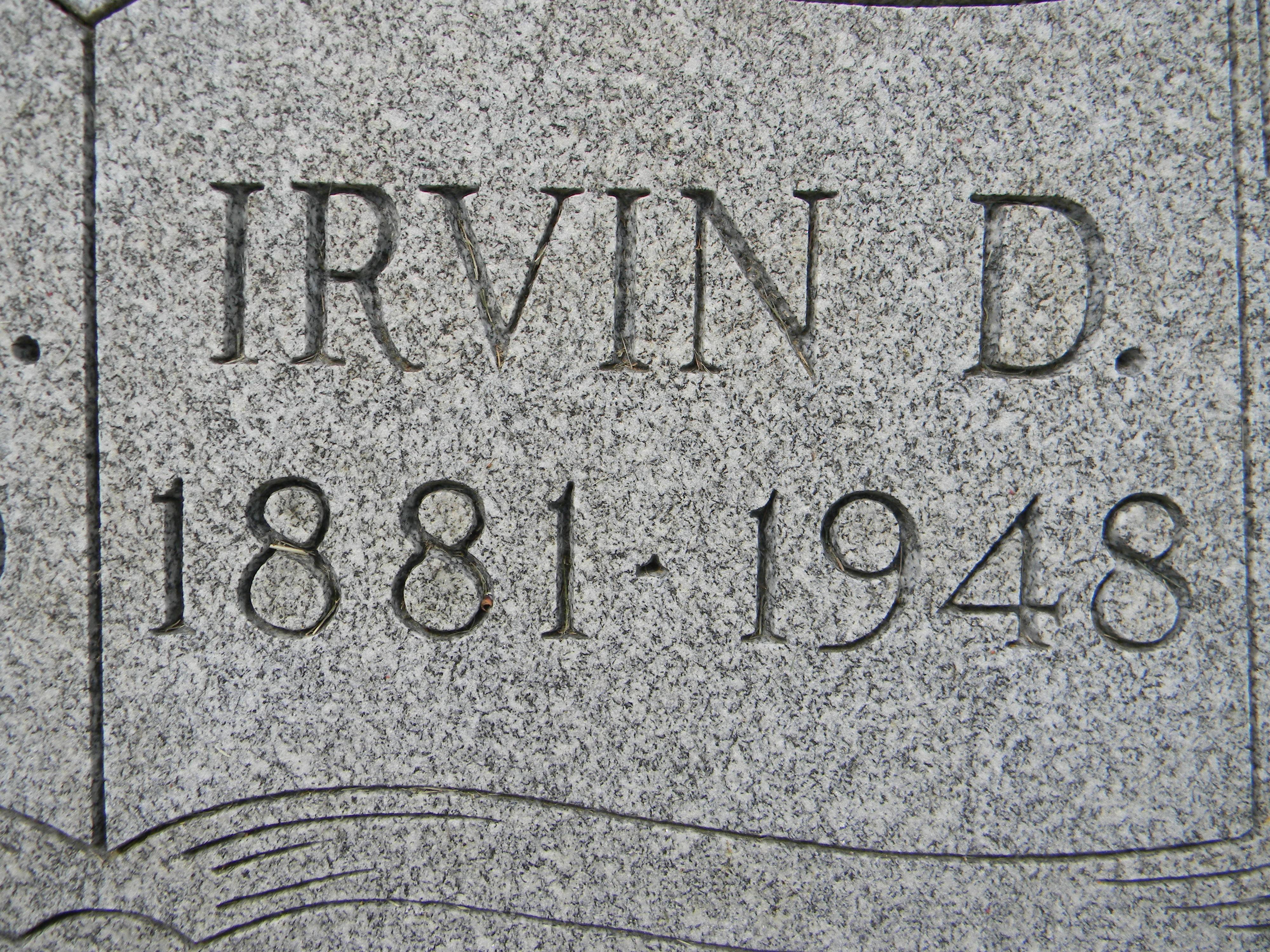 Irvin D Bertram