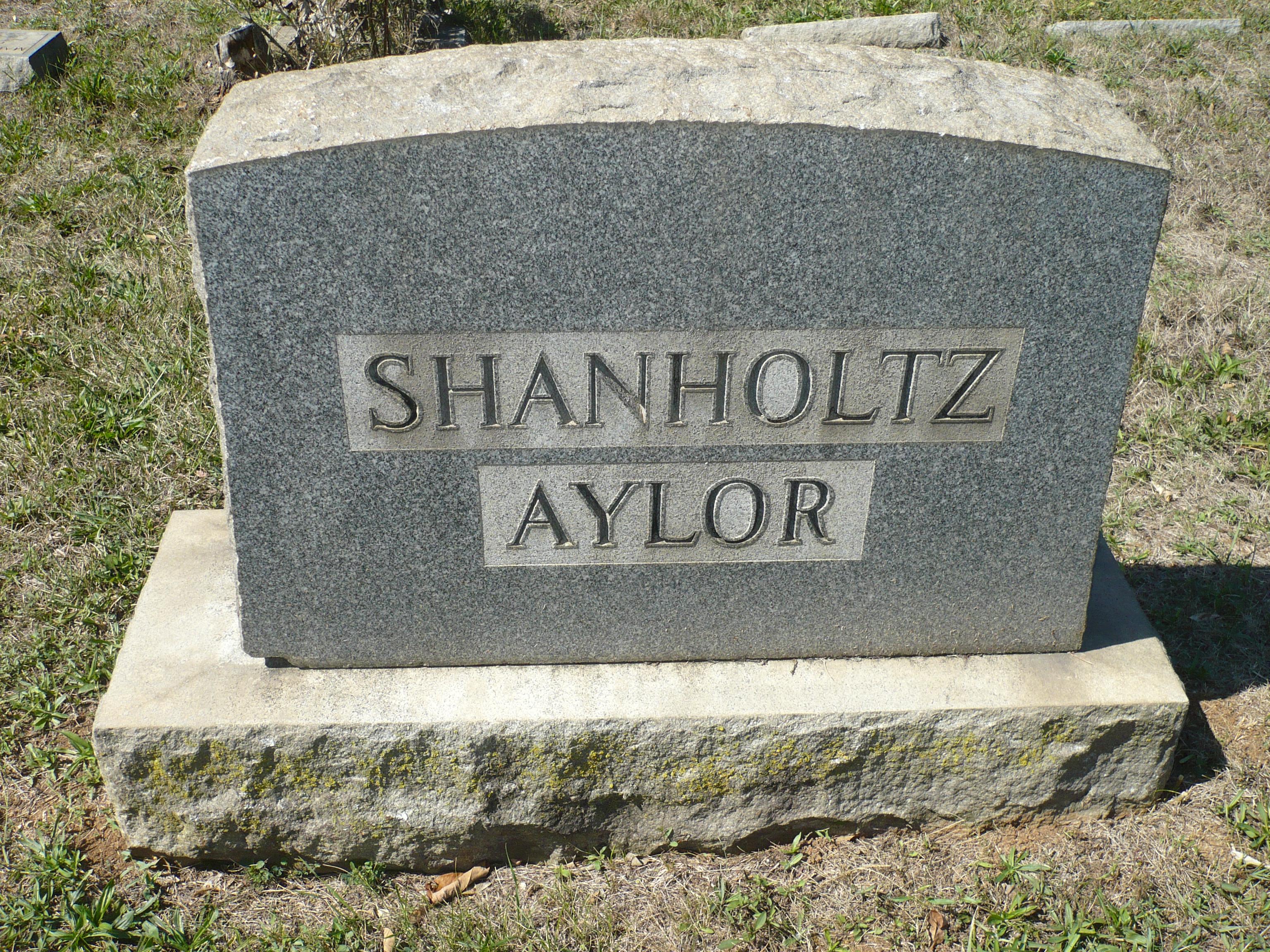 Flick Agnes <i>Shanholtz</i> Aylor