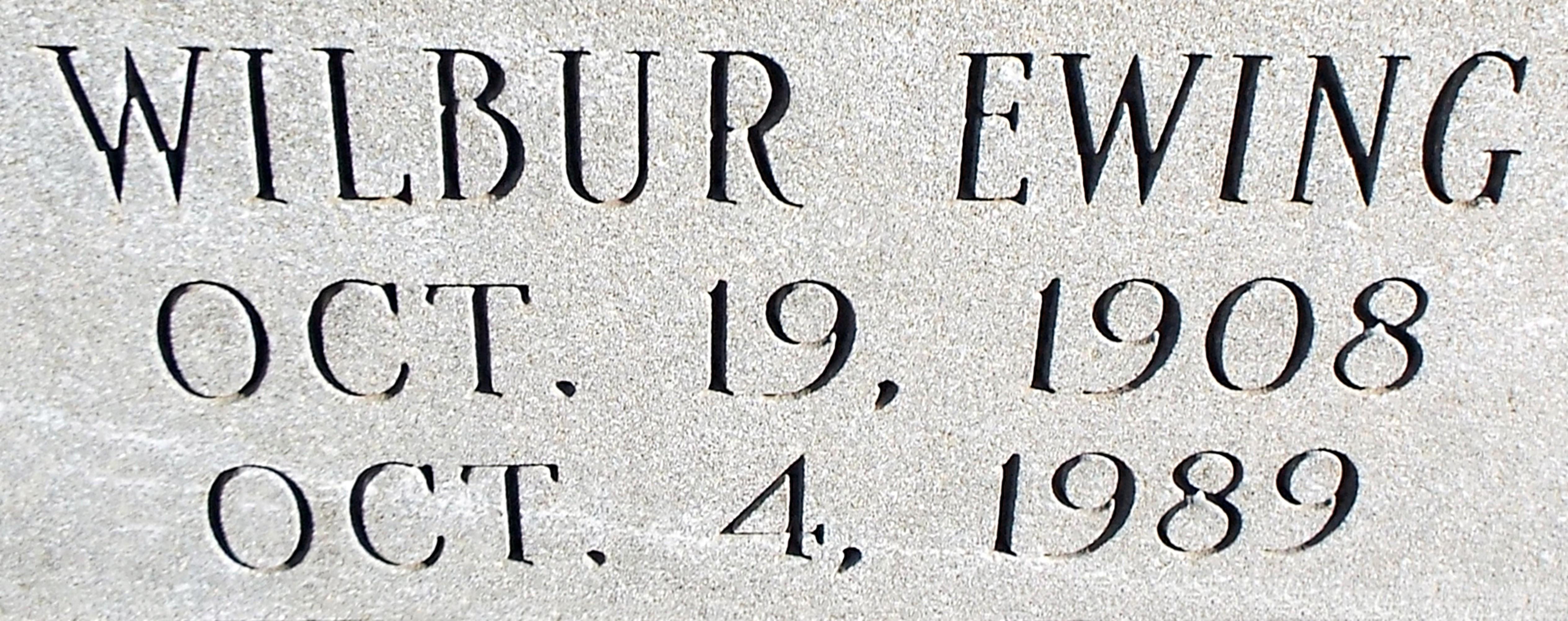 Wilbur Ewing Aldridge