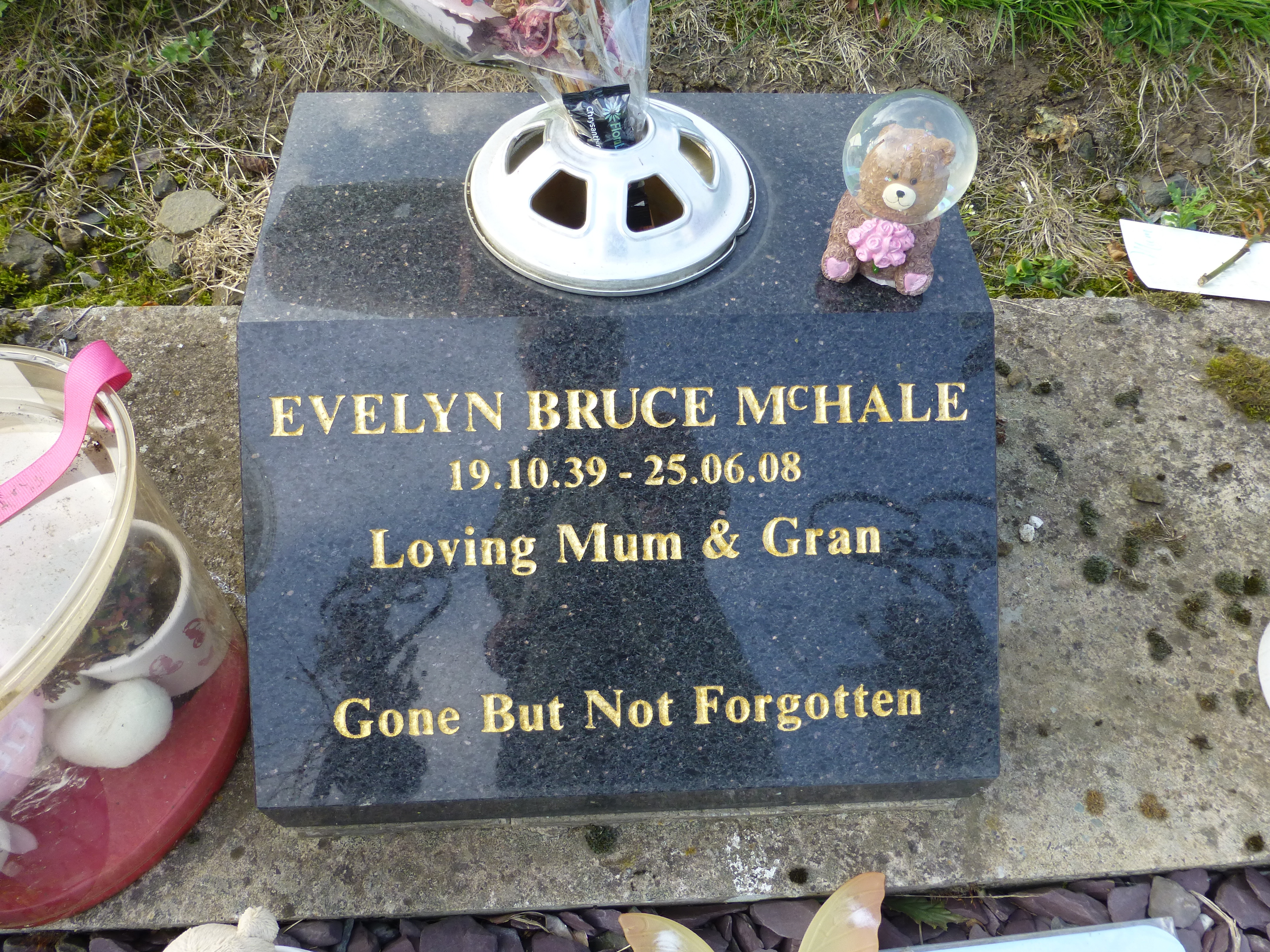 evelyn bruce mchale unknown 2008 find a grave memorial