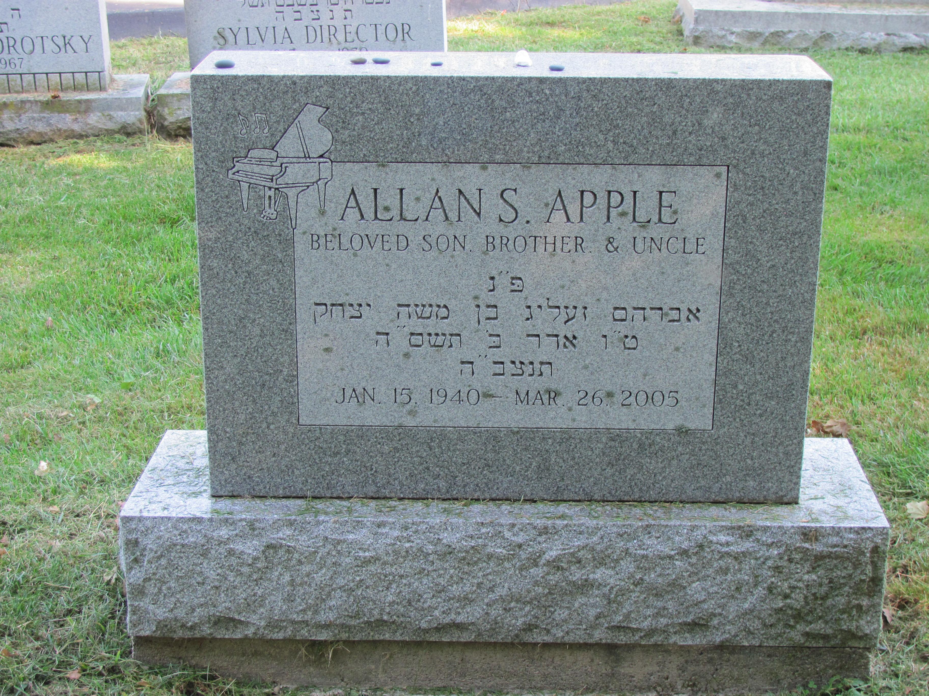 Allan Shepherd Apple