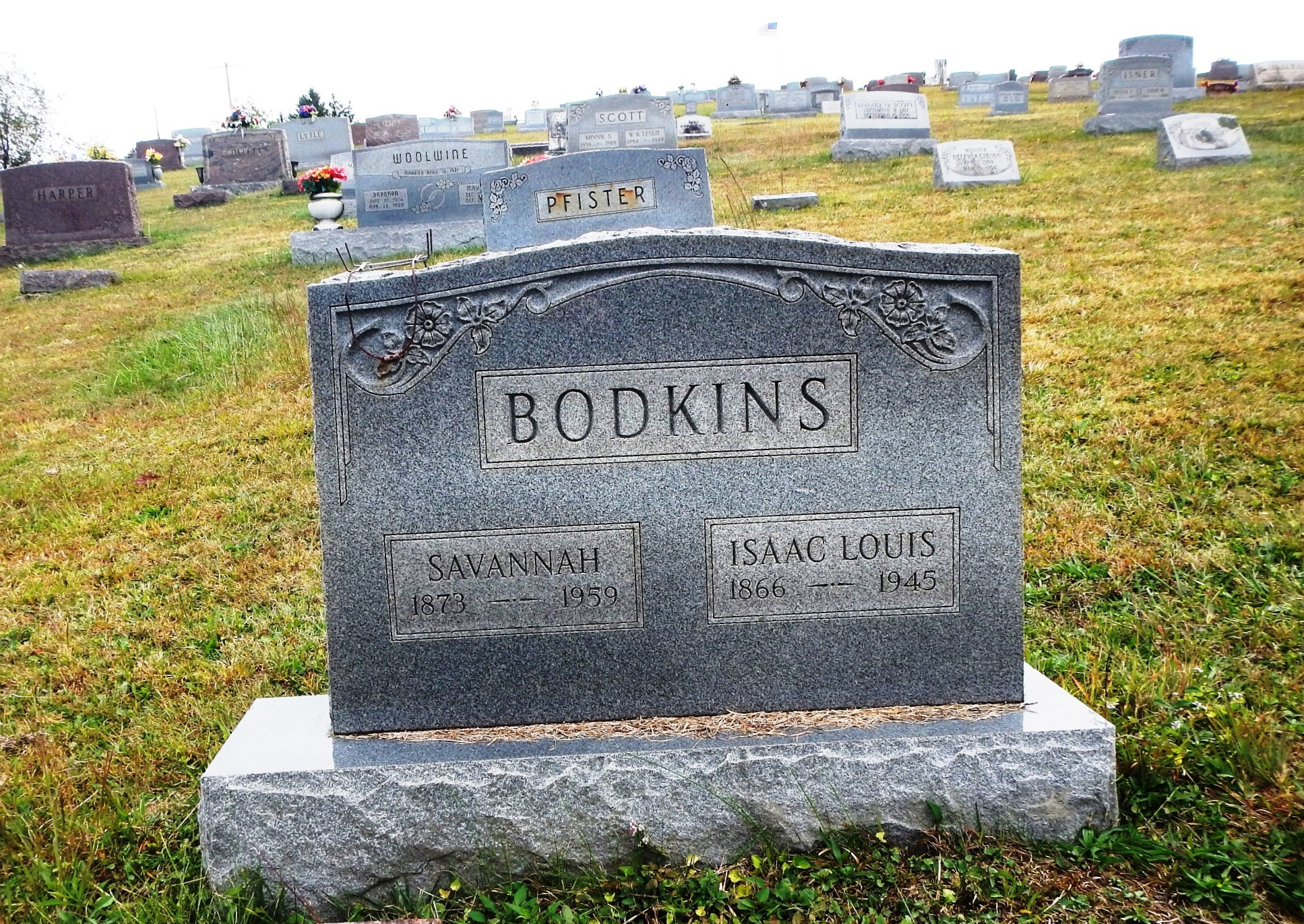 Isaac Louis Bodkins
