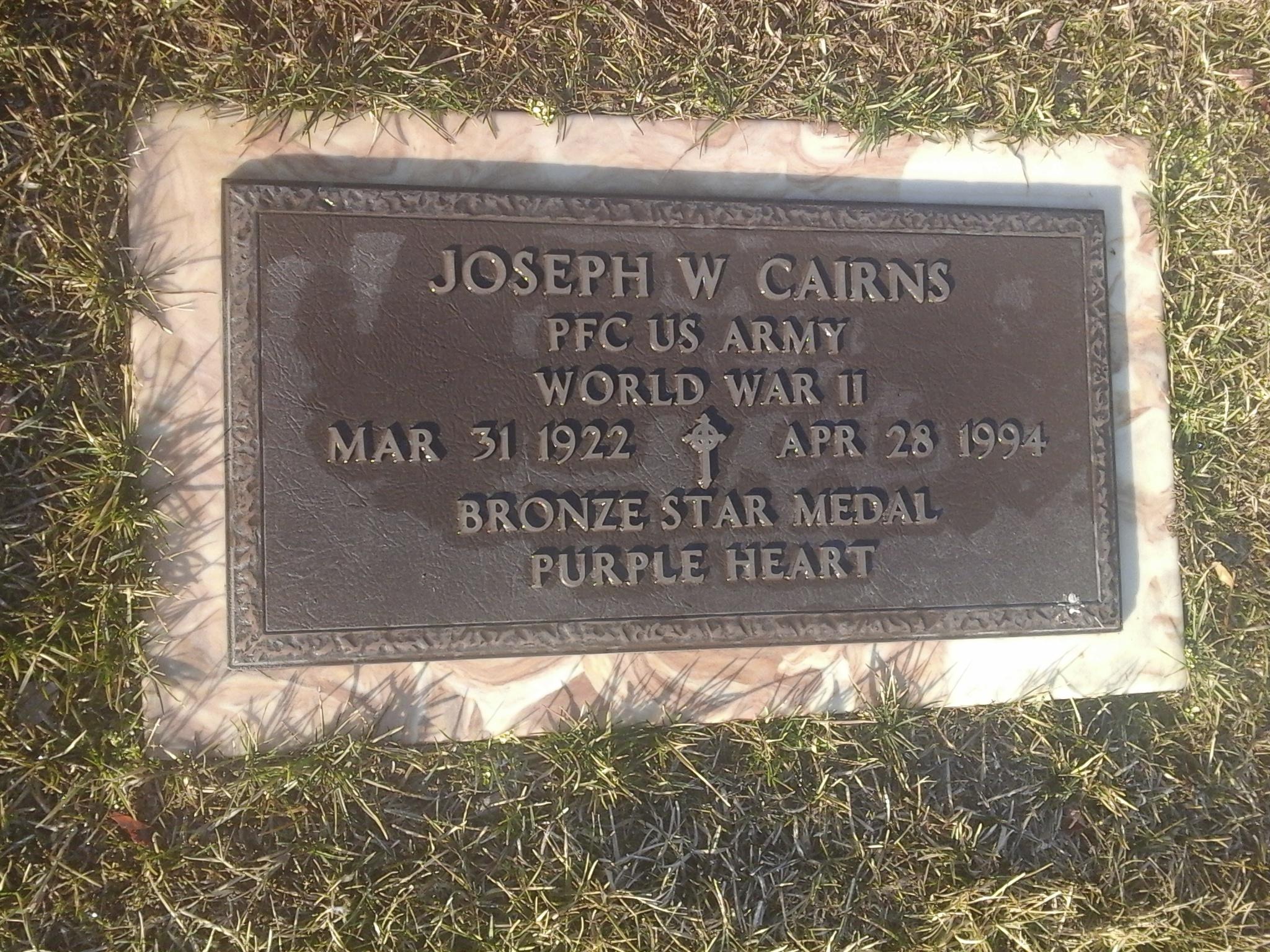Joseph William Cairns