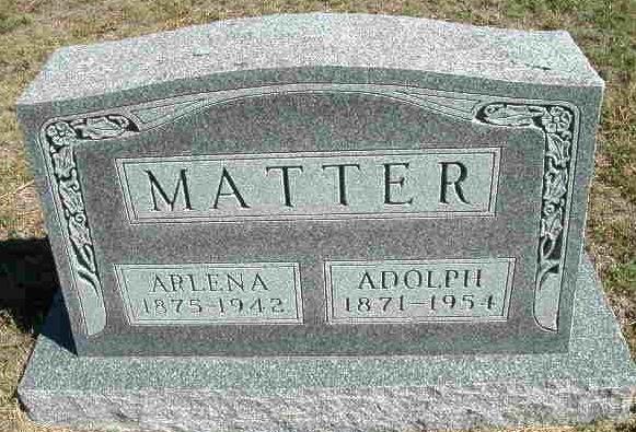 Arlena Lena <i>Rufenacht</i> Matter