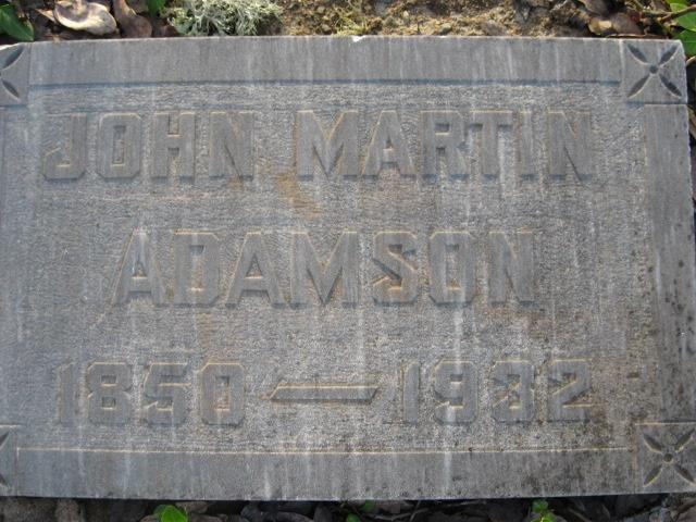 John Martin Adamson