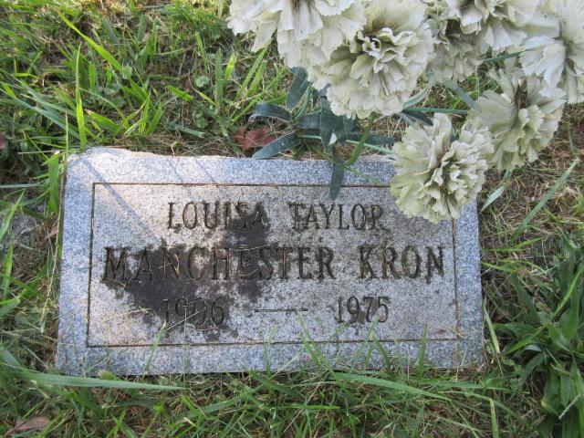 Louisa Taylor <i>Manchester</i> Kron