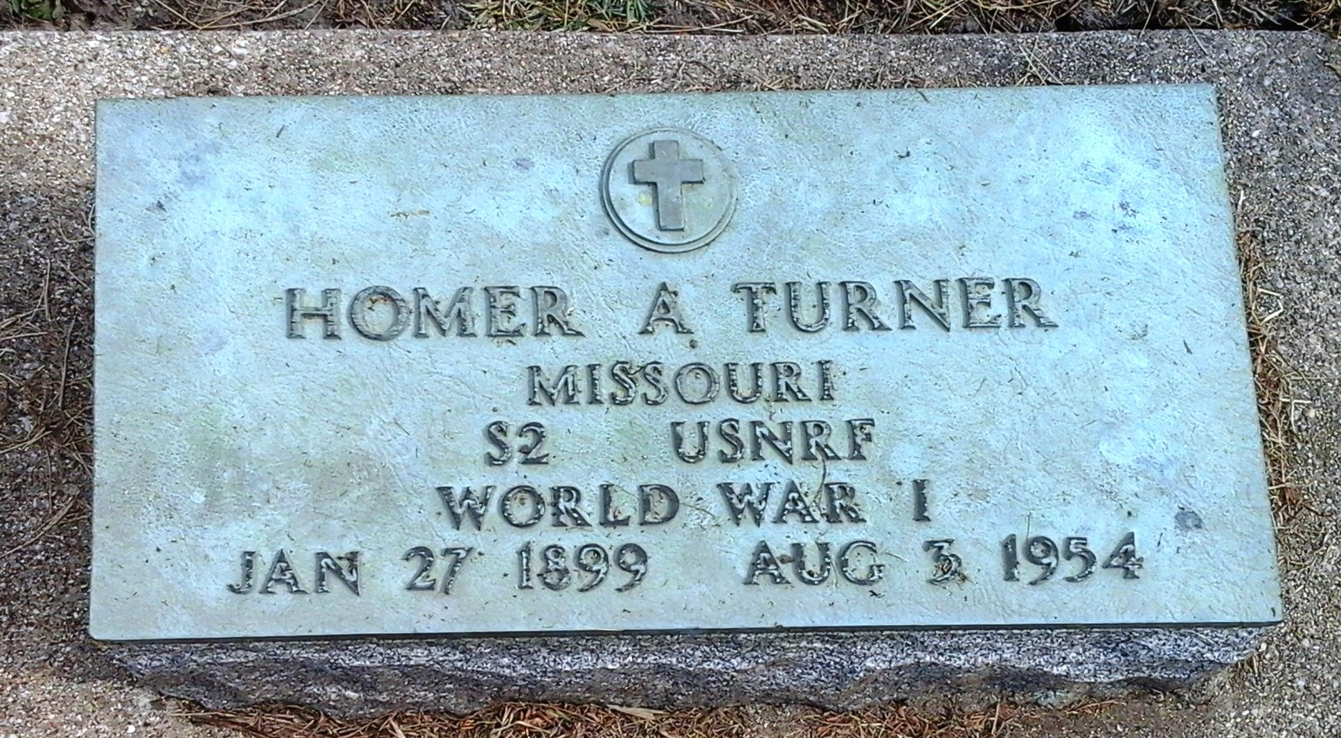Homer Alfred Turner