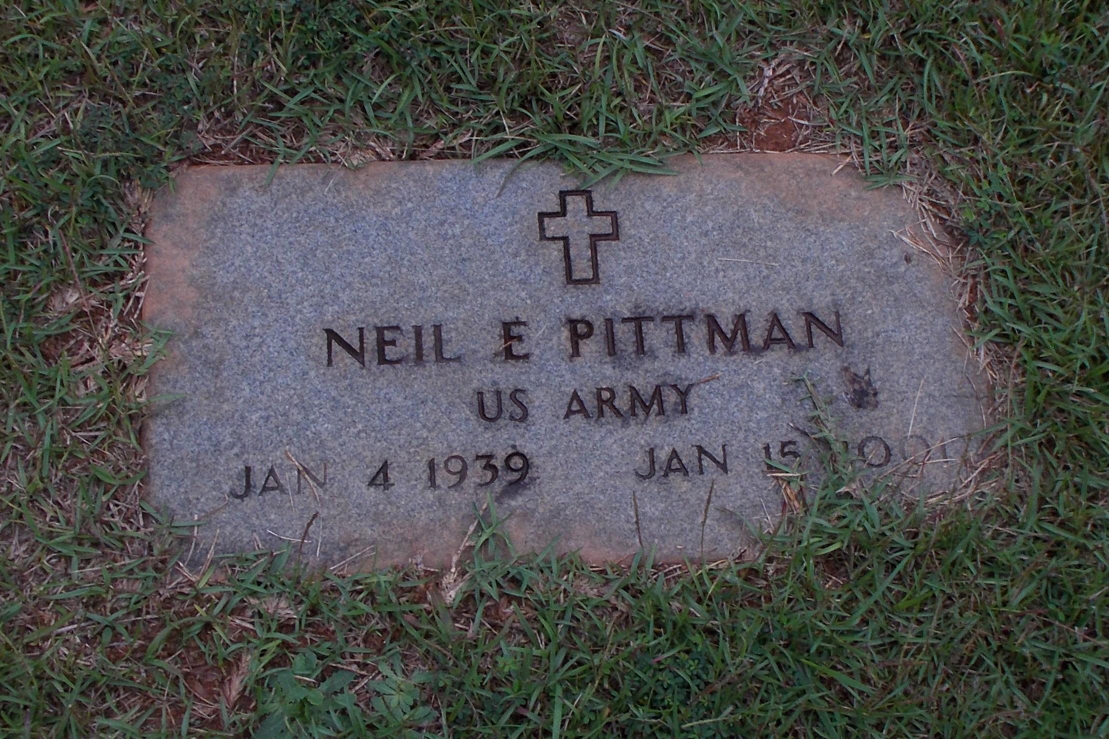 Neil E Pittman