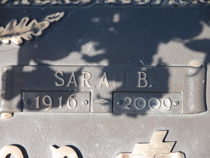 Sara <i>Bolden</i> McPherson