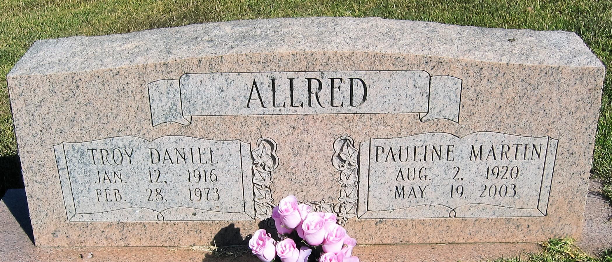 Pauline <i>Martin</i> Allred