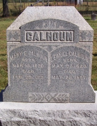 Mary <i>Thompson</i> Calhoun