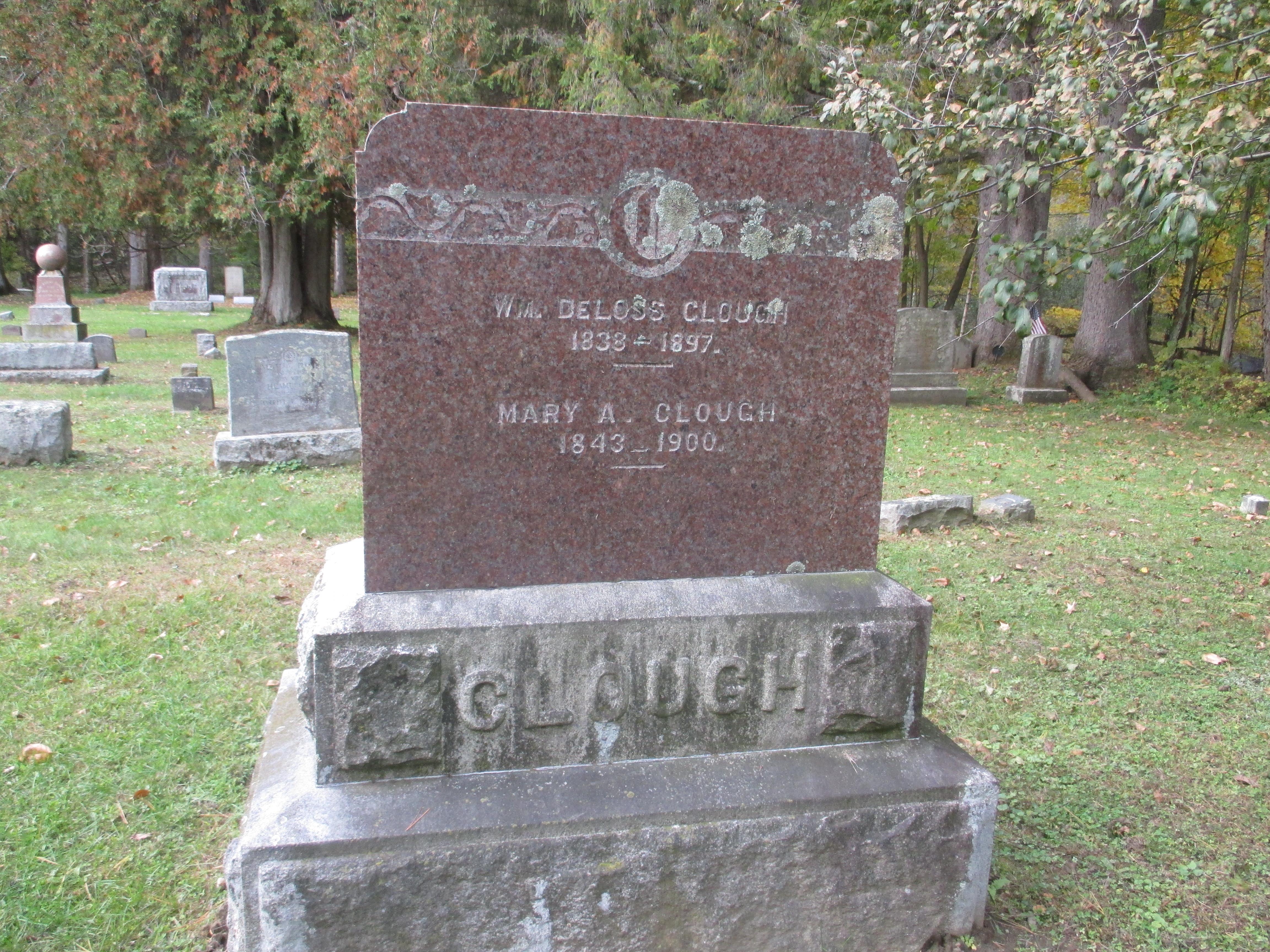 Mary A. <i>Roberts</i> Clough