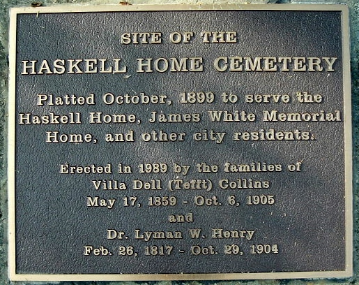 Haskell Home Cemetery