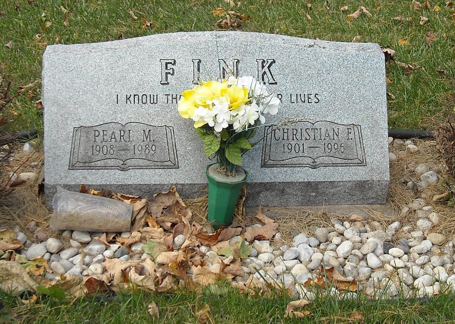 Pearl Marie <i>Leitzke</i> Fink