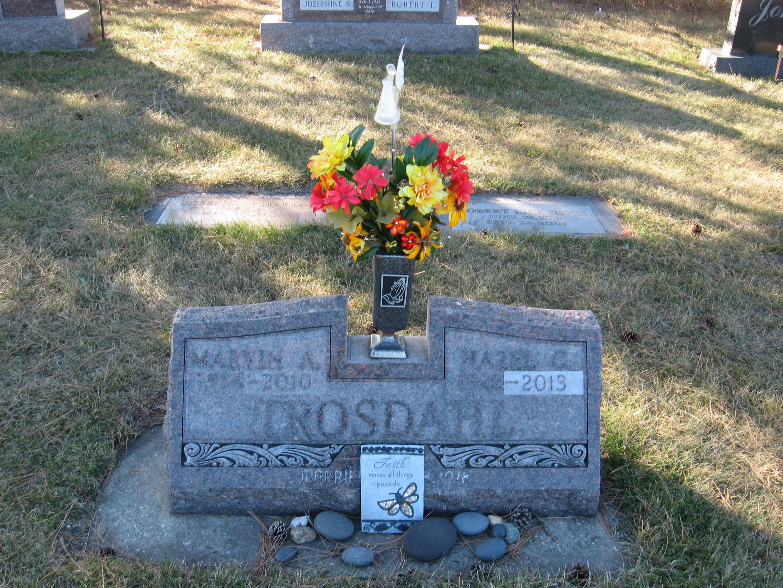 Marvin Alverdo Trosdahl 1914 2010 Find A Grave Memorial