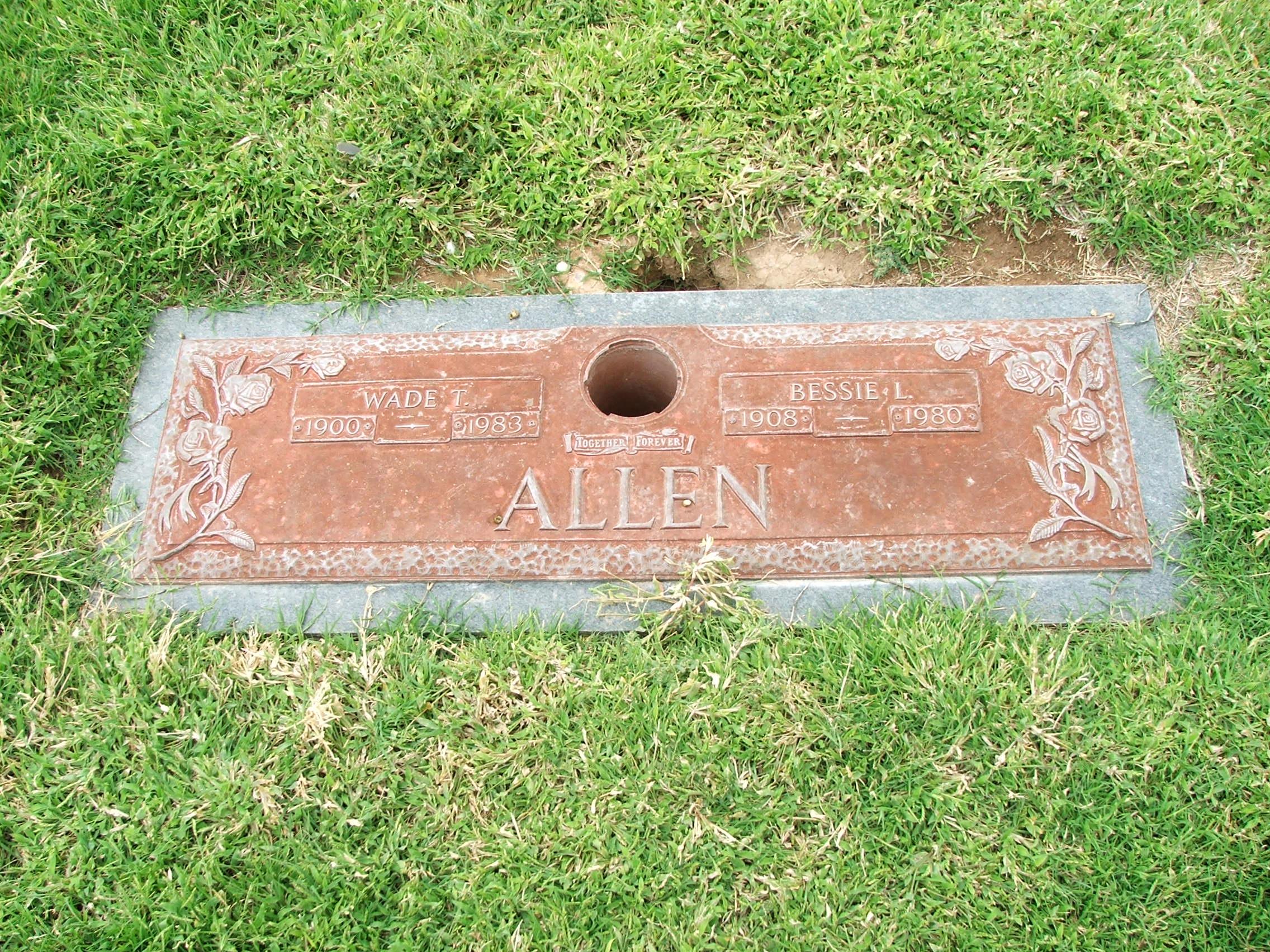 Bessie Lee <i>Collins</i> Allen