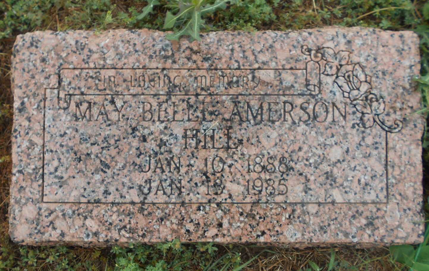 May Belle Amerson