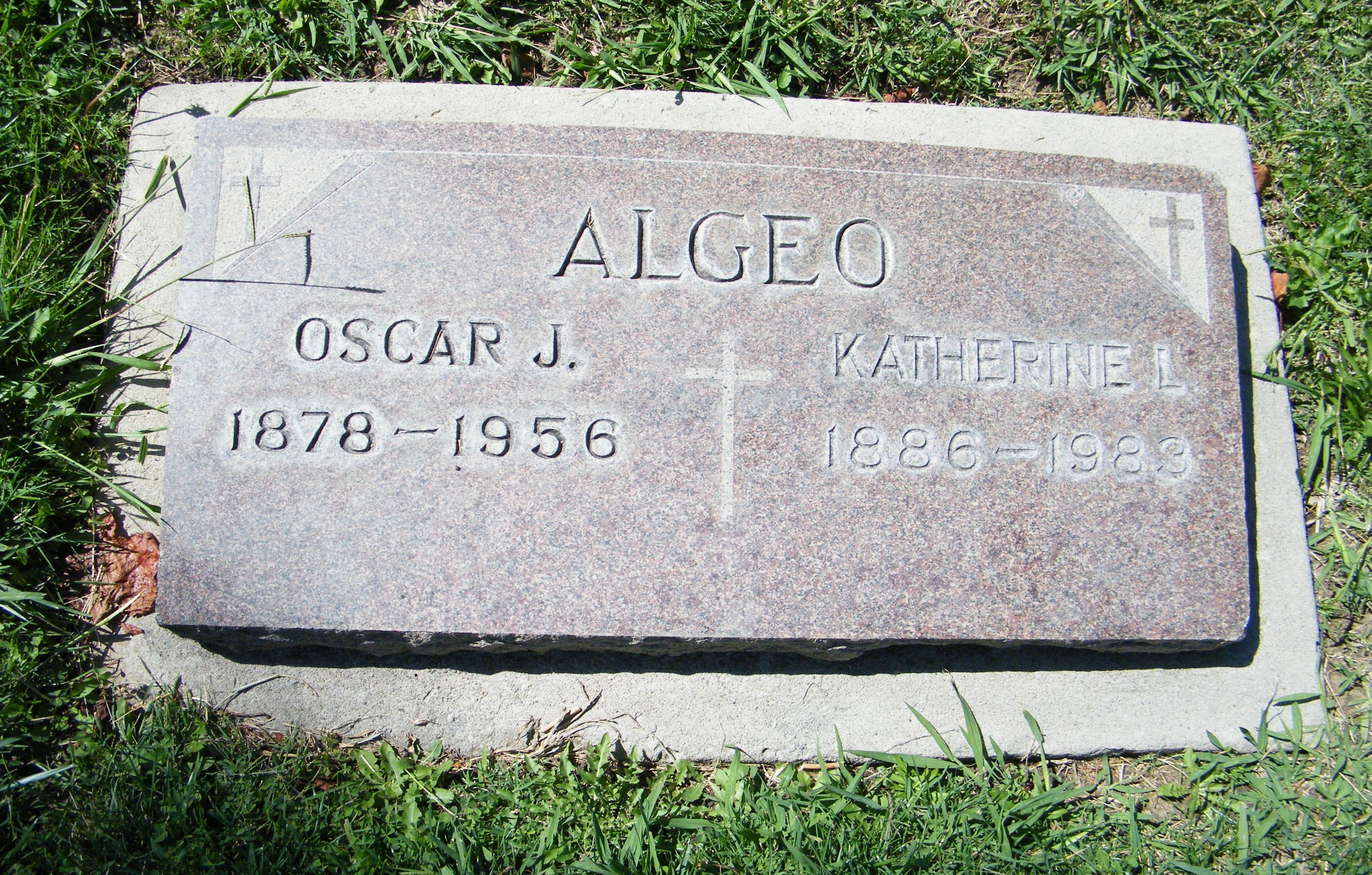 Oscar Joseph Algeo