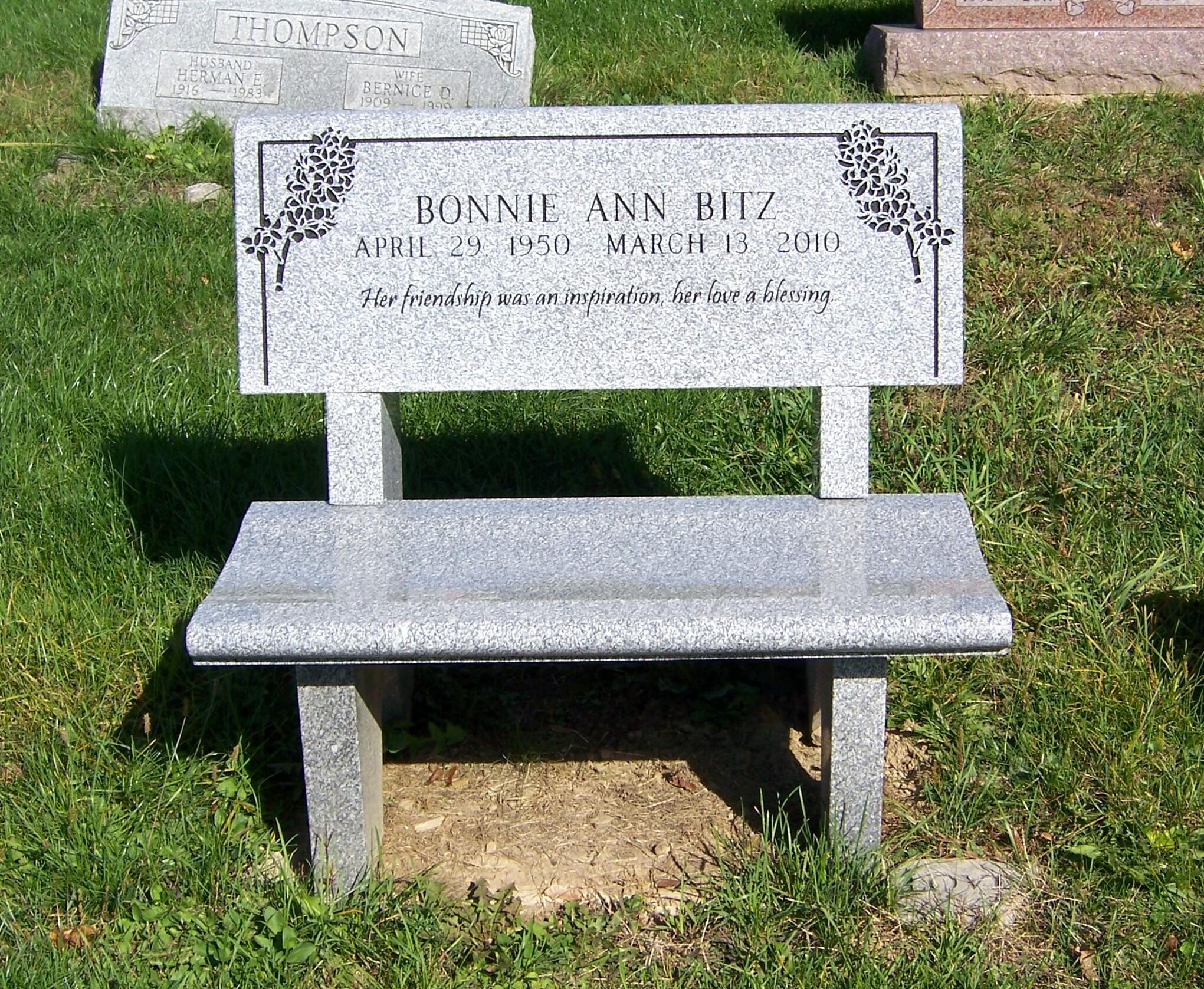 Bonnie Ann <i>McCracken</i> Bitz