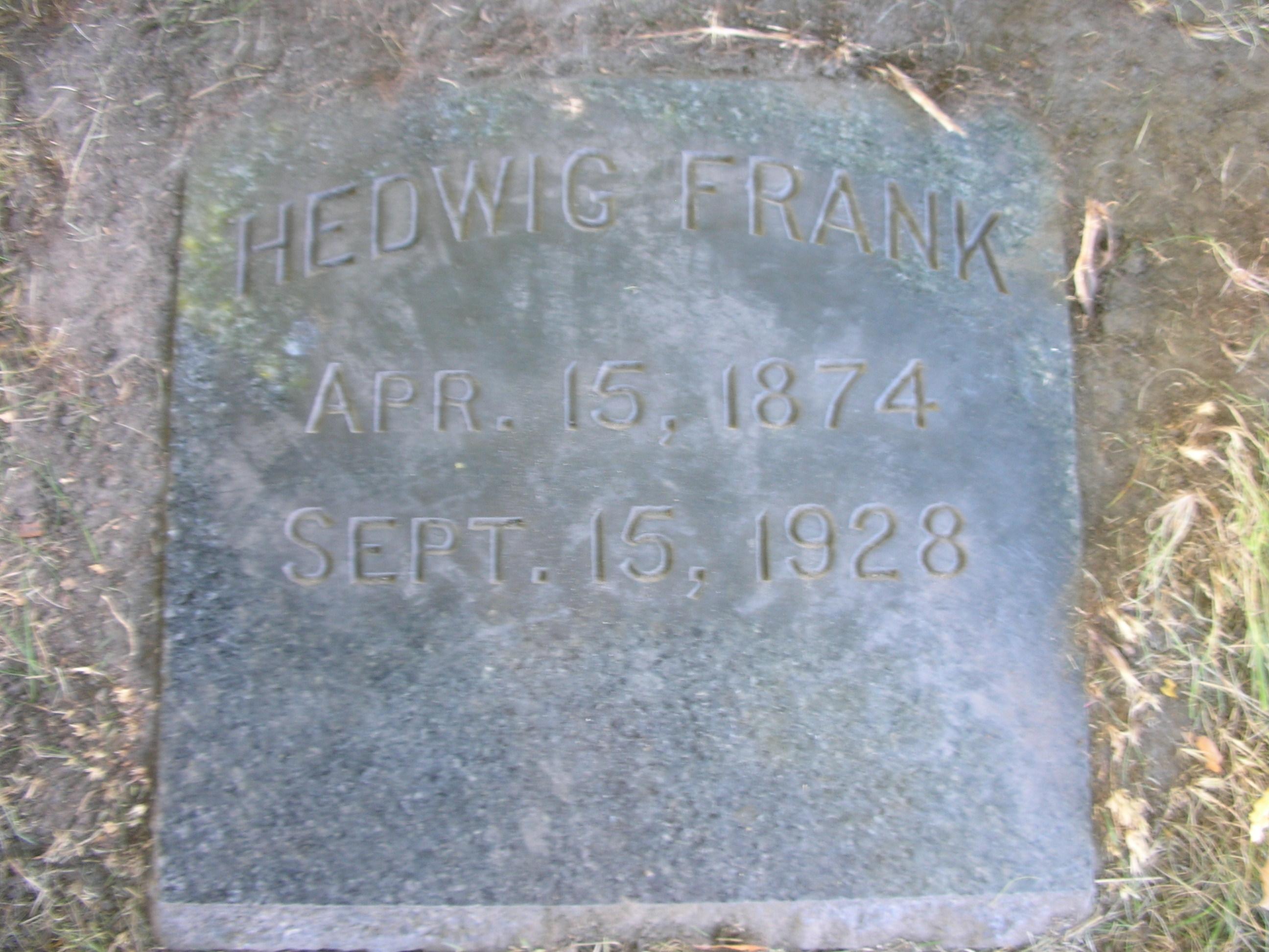 Hedwig Frank