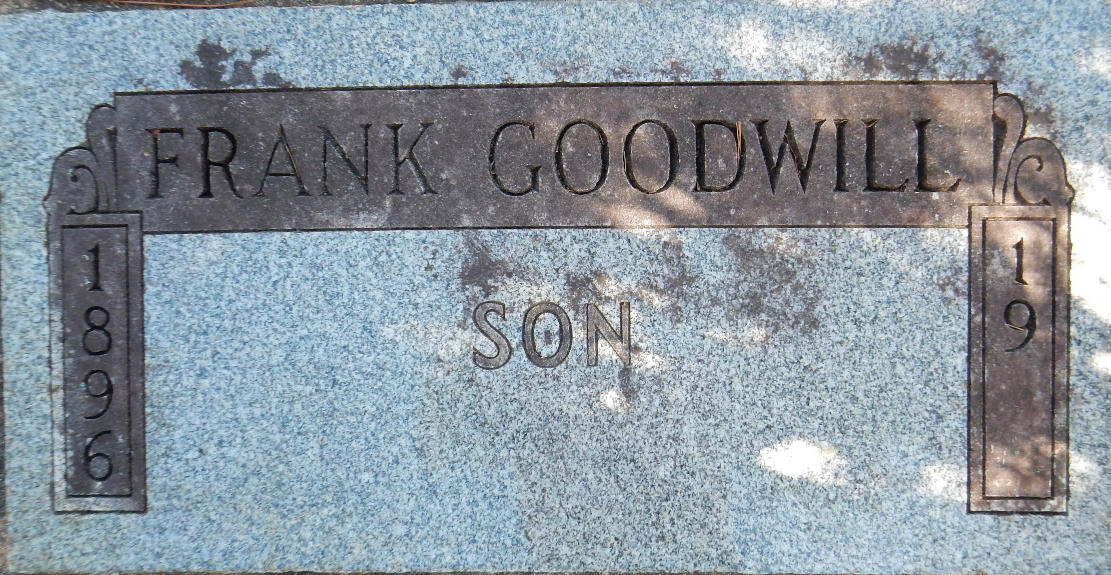 Frank Goodwill