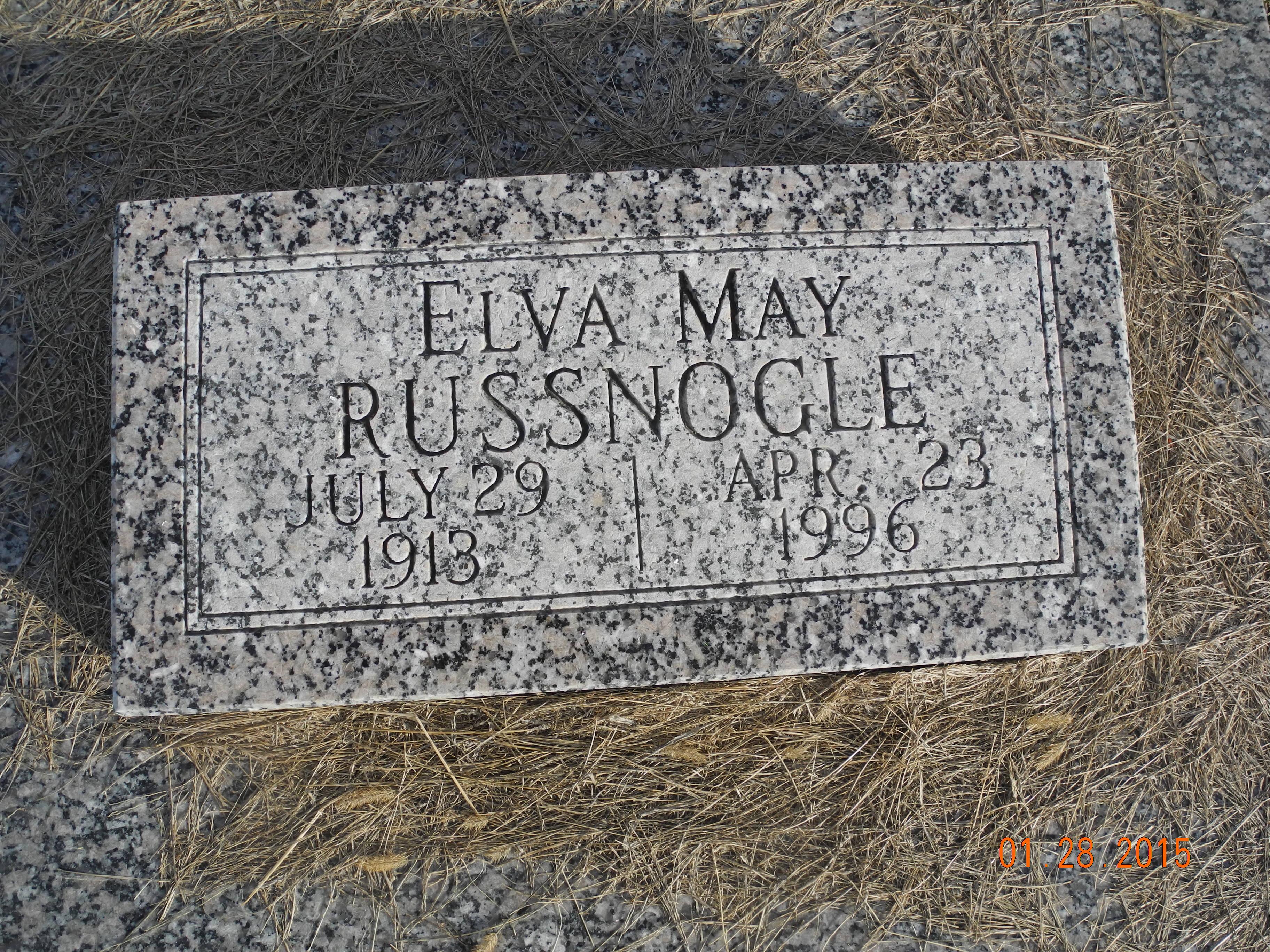 Elva May Russnogle