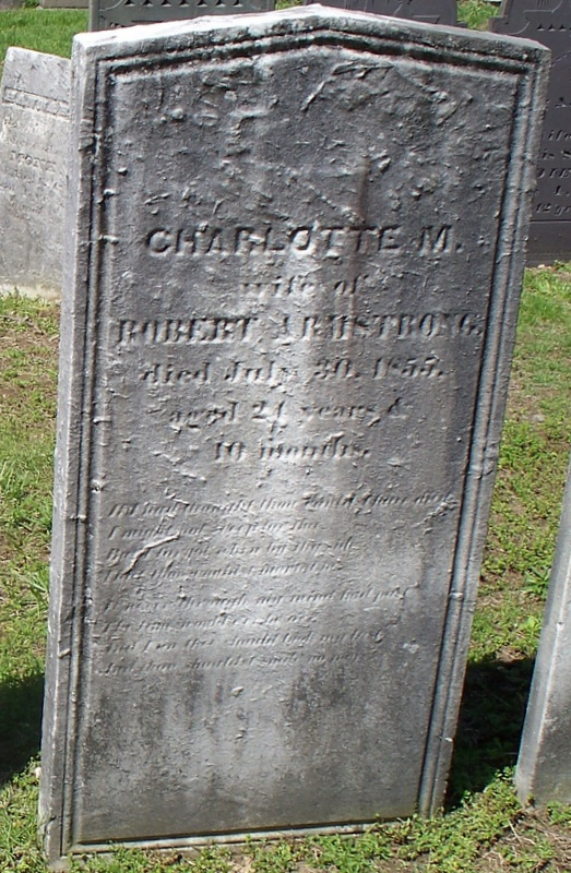 Charlotte M Armstrong