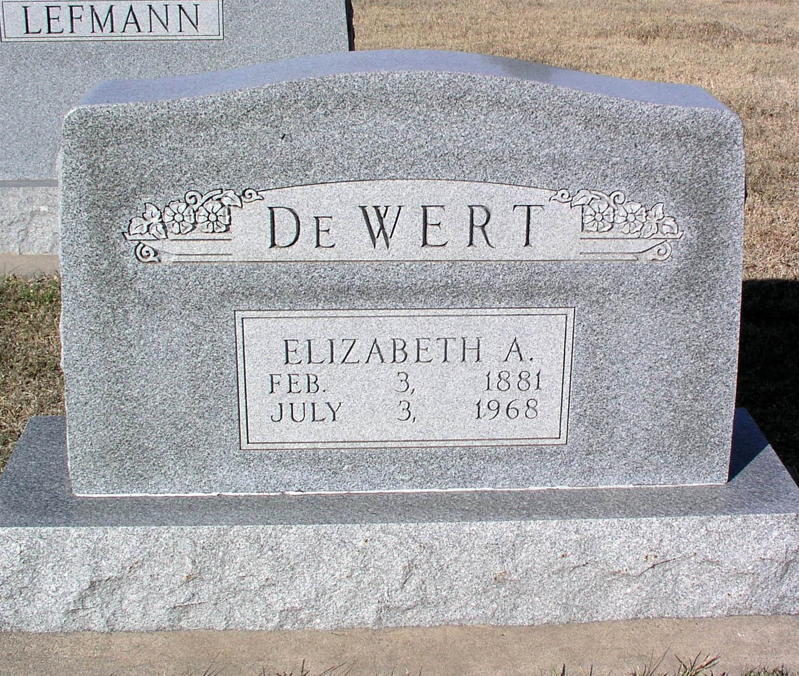 Elizabeth A. DeWert