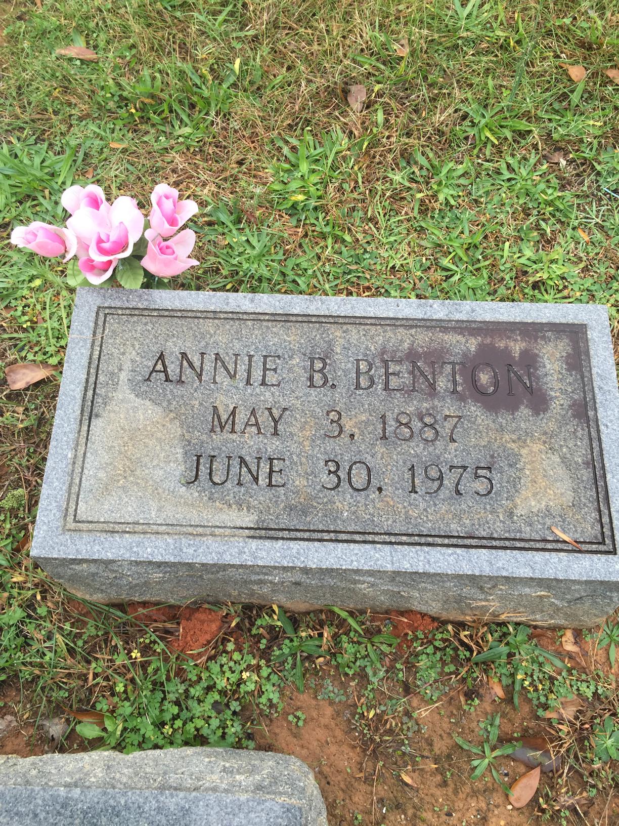 Annie <i>Bolling</i> Benton