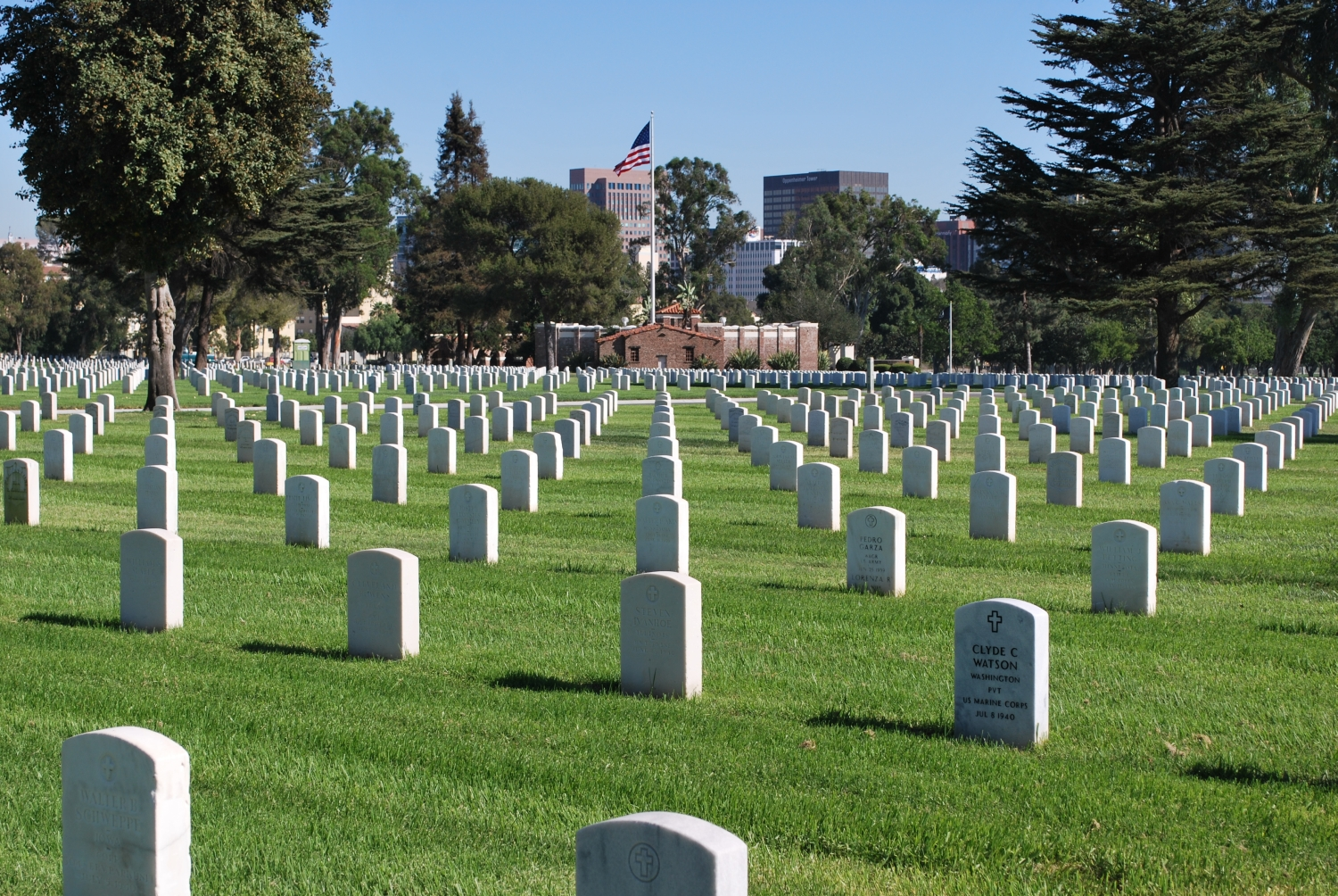 Los angeles national cemetery in los angeles california find a view original 1betcityfo Choice Image