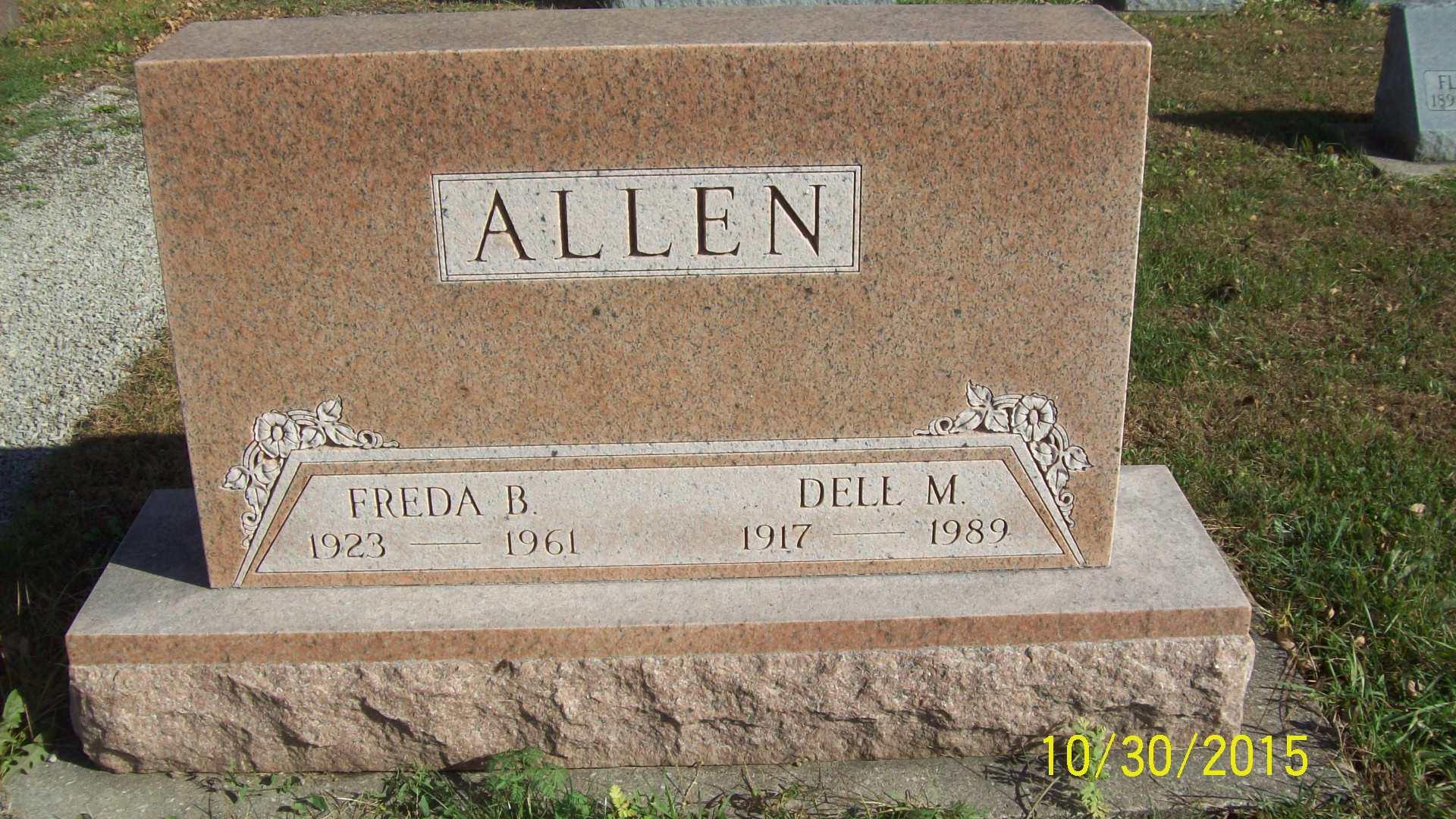 Freda Rose <i>Gaultney</i> Allen