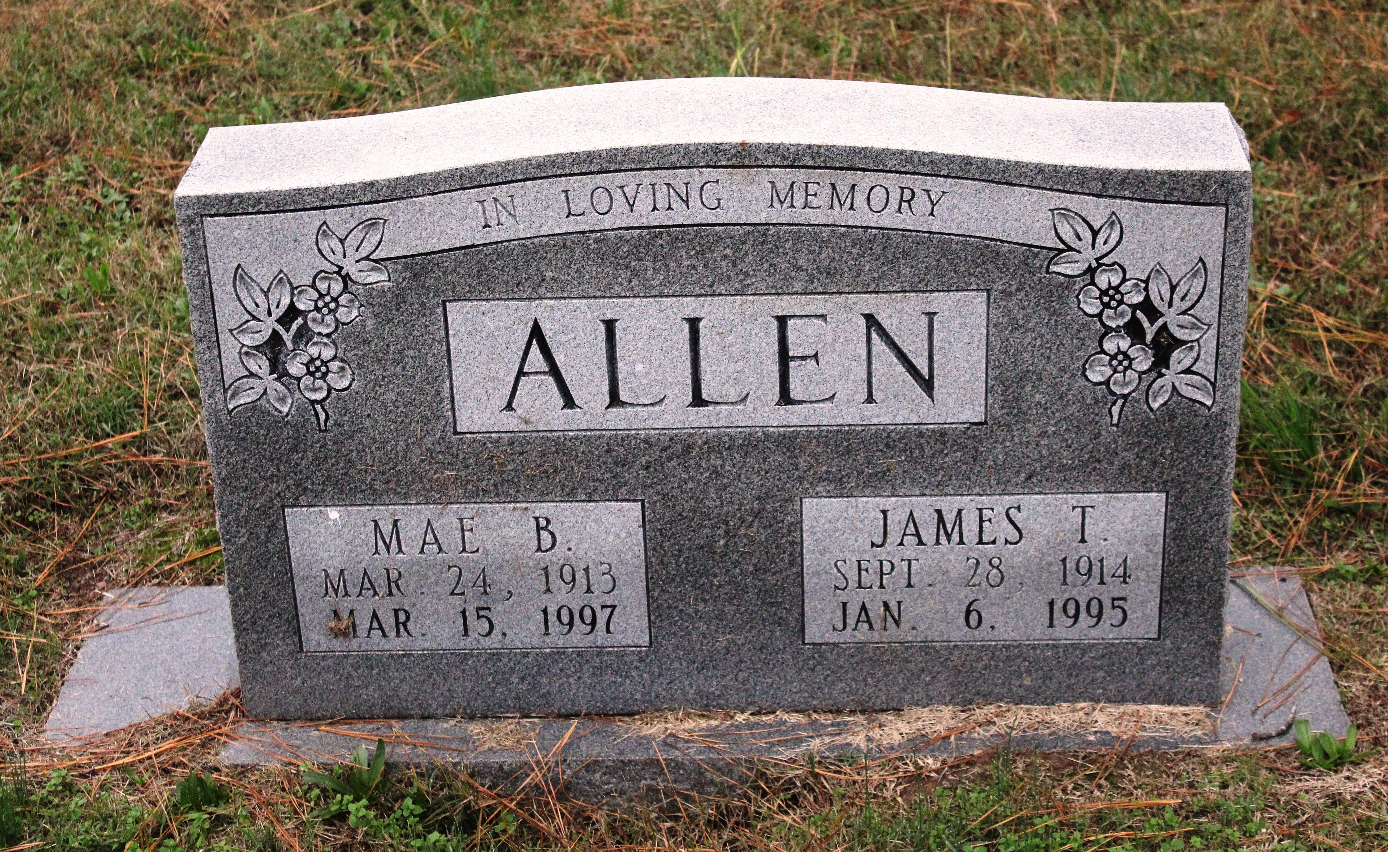 Mae <i>Bradley</i> Allen